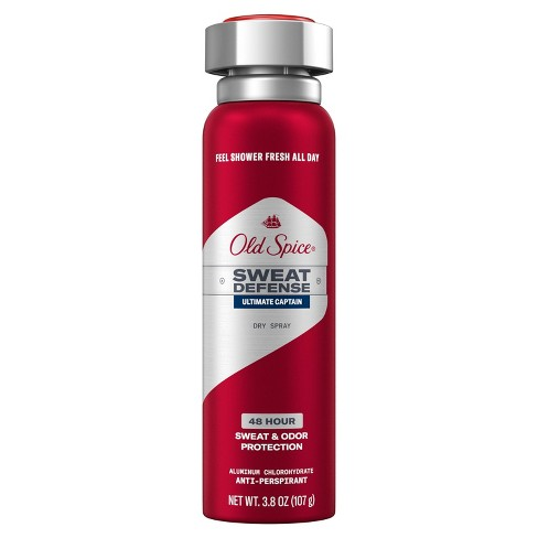Old Spice Red Collection Captain Invisible Spray Antiperspirant & Deodorant - 3.8oz - image 1 of 3