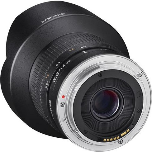 Samyang 14mm f/2.8 ED AS IF UMC Lens with AE Chip for Canon EF-Mount Camera, Manual Focus - image 1 of 1