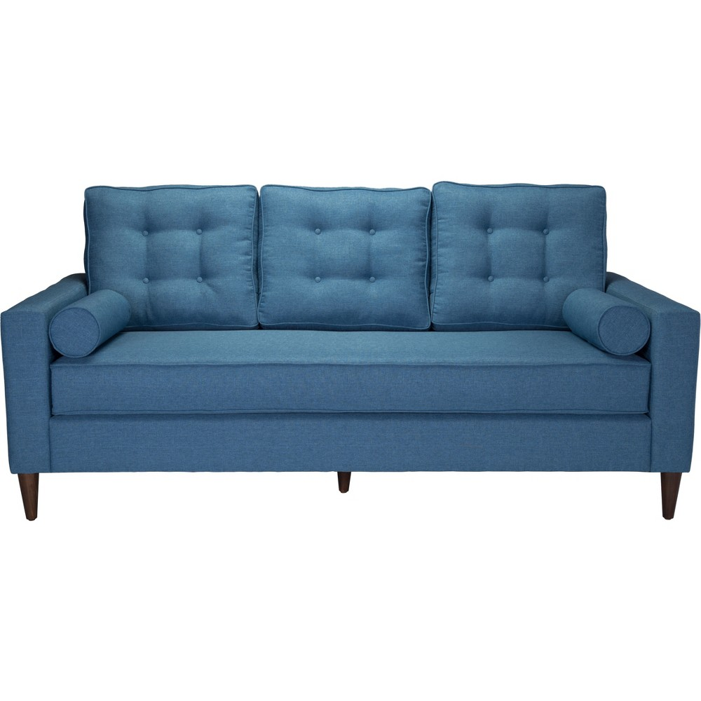"Image of ""108"""" Mid-Century Sofa Blue - ZM Home"""
