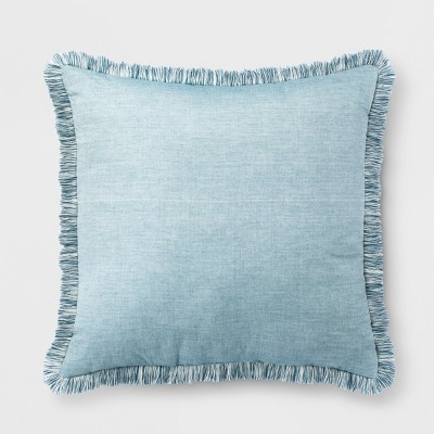 Teal Yarn Dyed Euro Throw Pillow - Opalhouse™