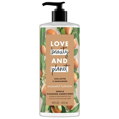 Shampoo & Conditioner: Love Beauty & Planet - Purposeful Hydration