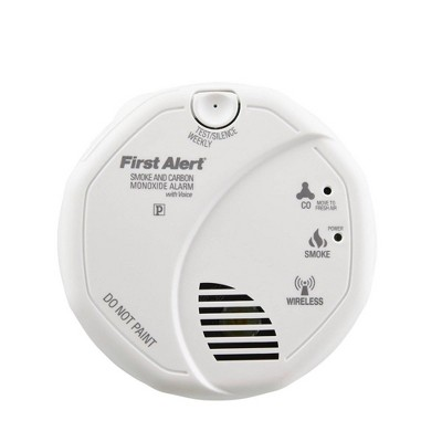 First Alert SCO501CN Smoke & Carbon Monoxide Detector with Voice Location and Wireless Interconnectivity