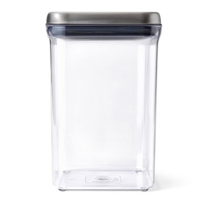 OXO 4qt SteeL POP Container Big Square