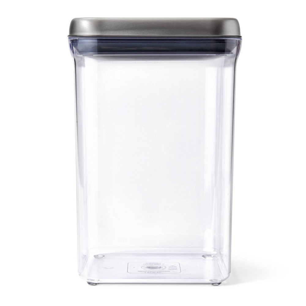 Image of OXO 4qt SteeL POP Container Big Square
