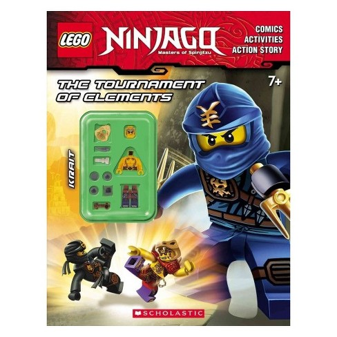The Tournament of Elements ( Lego Ninjago Masters of Spinjitzu) (Mixed media product) by Scholastic Inc. - image 1 of 1