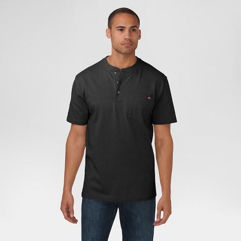 Dickies® Men's Big & Tall Cotton Heavyweight Short Sleeve Pocket Henley Shirt - image 1 of 2