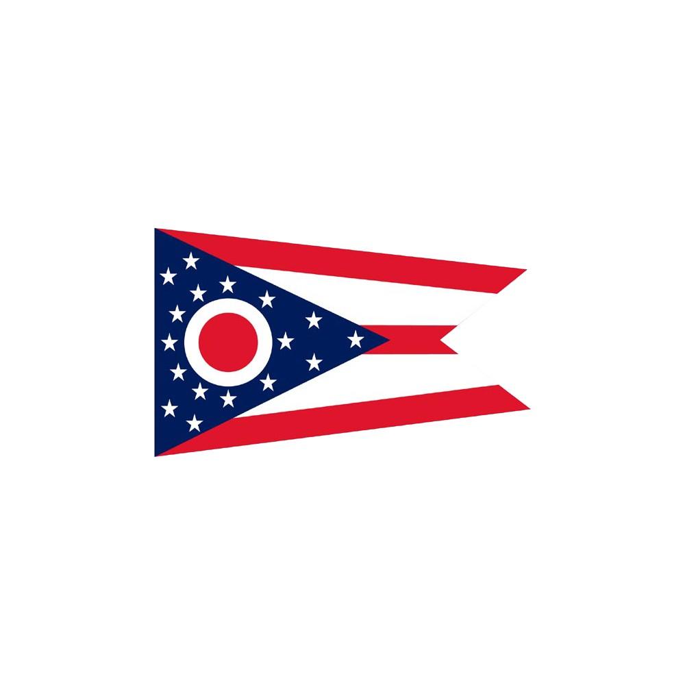 Image of Halloween Ohio State Flag - 3' x 5'