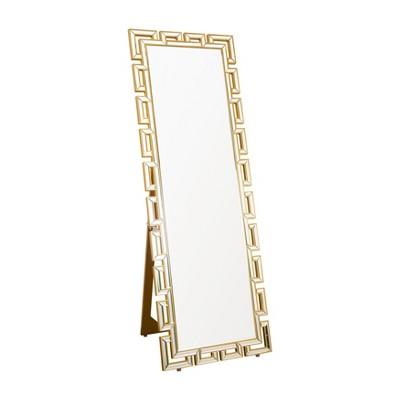 Abbyson Living 63 x22  Maro Gold Standing Floor Mirror Gold