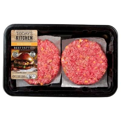 Bacon Cheddar Beef Patties - 21.28 oz - Archer Farms™