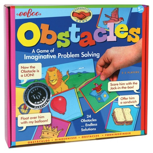 Eeboo Obstacles Board Game - image 1 of 3