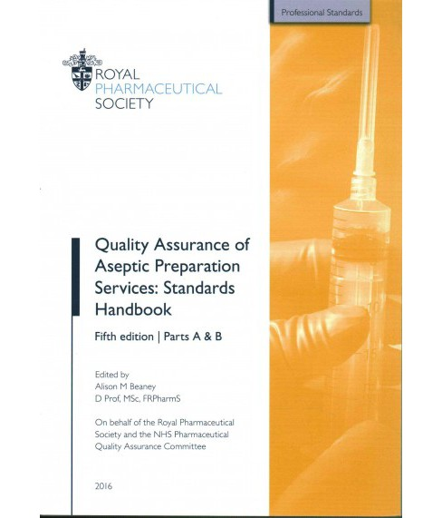 Quality Assurance of Aseptic Preparation Services : Standards Handbook (Paperback) - image 1 of 1