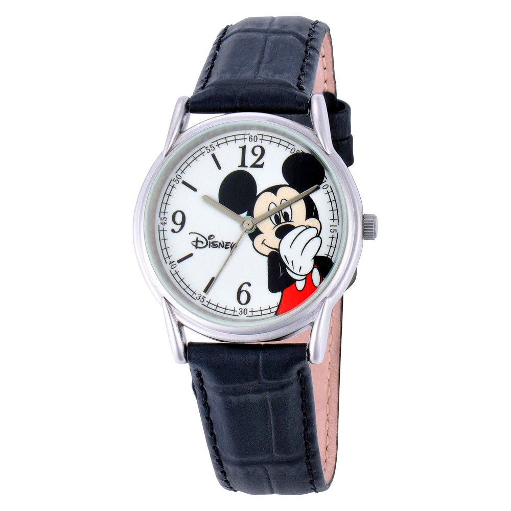 Men's Disney Mickey Mouse Cardiff Watch - Black