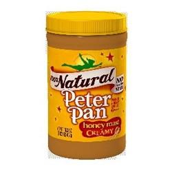 Peter Pan 100% Natural Creamy Honey Roast Peanut Butter 16.3oz