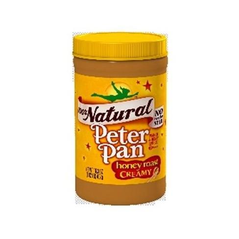 Peter Pan 100% Natural Creamy Honey Roast Peanut Butter 16.3oz - image 1 of 1
