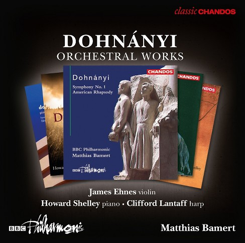Bbc philharmonic - Dohnanyi:Orchestral works (CD) - image 1 of 1