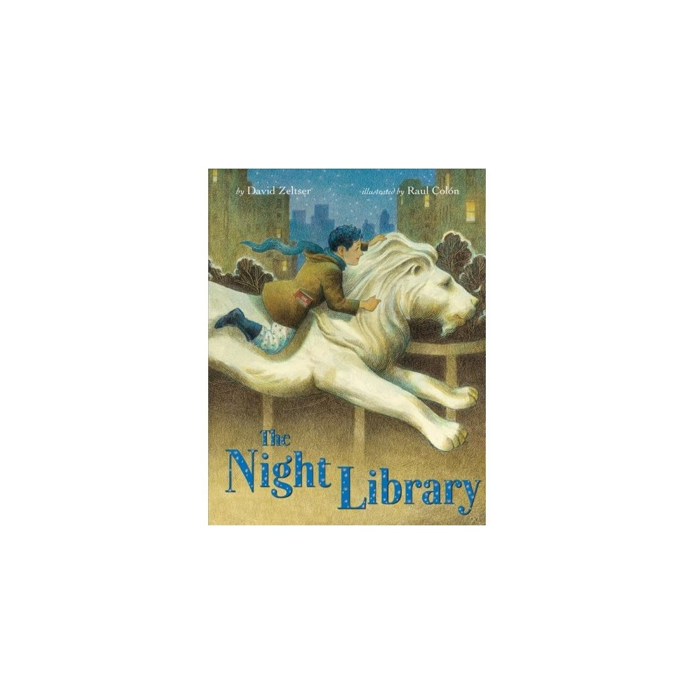 Night Library - by David Zeltser (Hardcover)