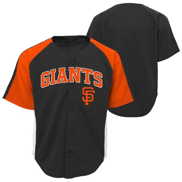 MLB San Francisco Giants Boys' Infant/Toddler Team Jersey - image 1 of 3