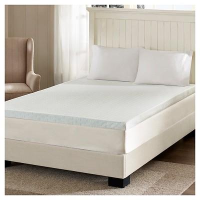 3  Memory Foam Mattress Topper (Queen)White