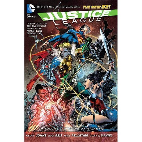 Justice League Vol. 3: Throne of Atlantis (the New 52) - 52 Edition by  Geoff Johns (Paperback) - image 1 of 1