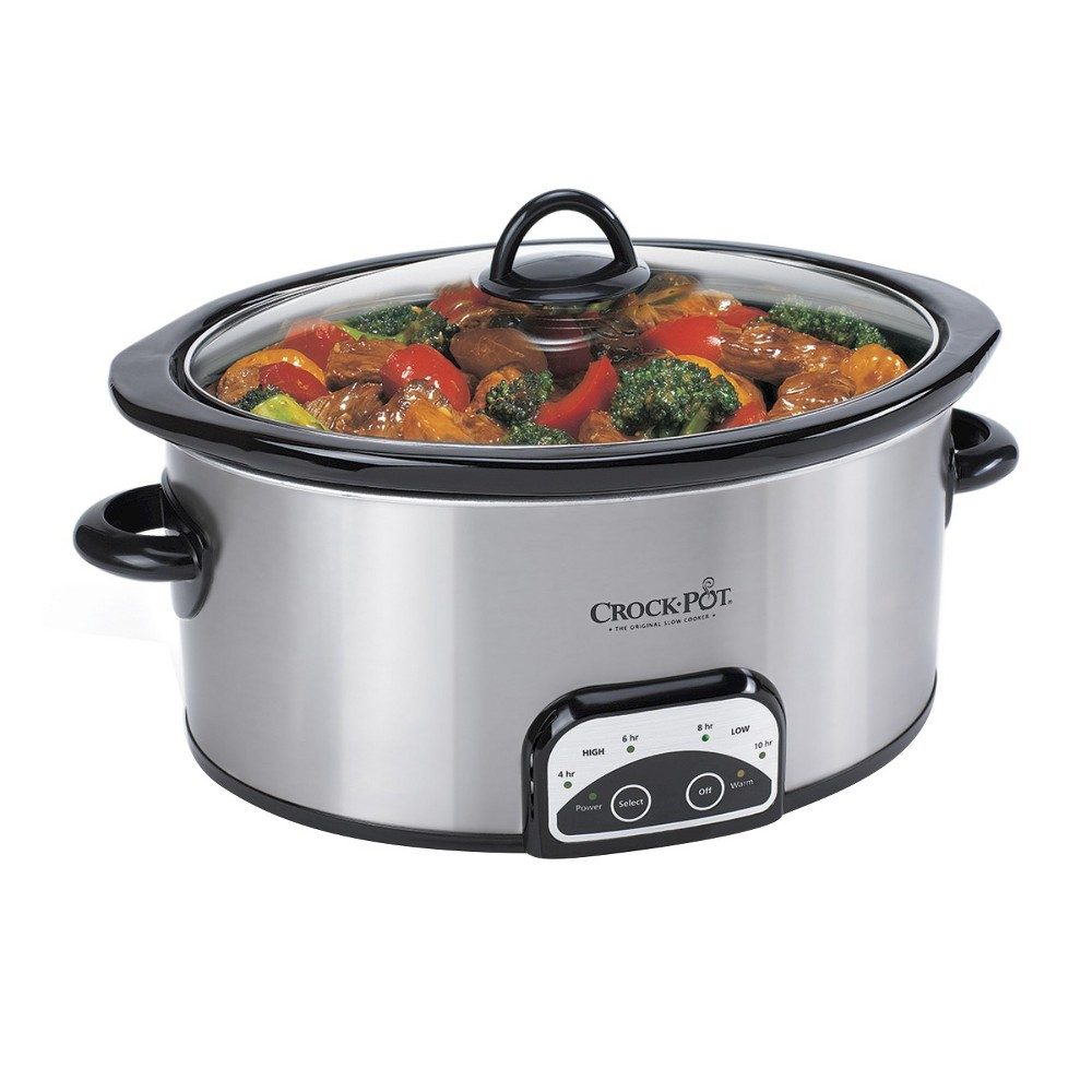 Crock-Pot Smart-Pot 4 Qt. Digital Slow Cooker – Silver SCCPVP400-S 16391451