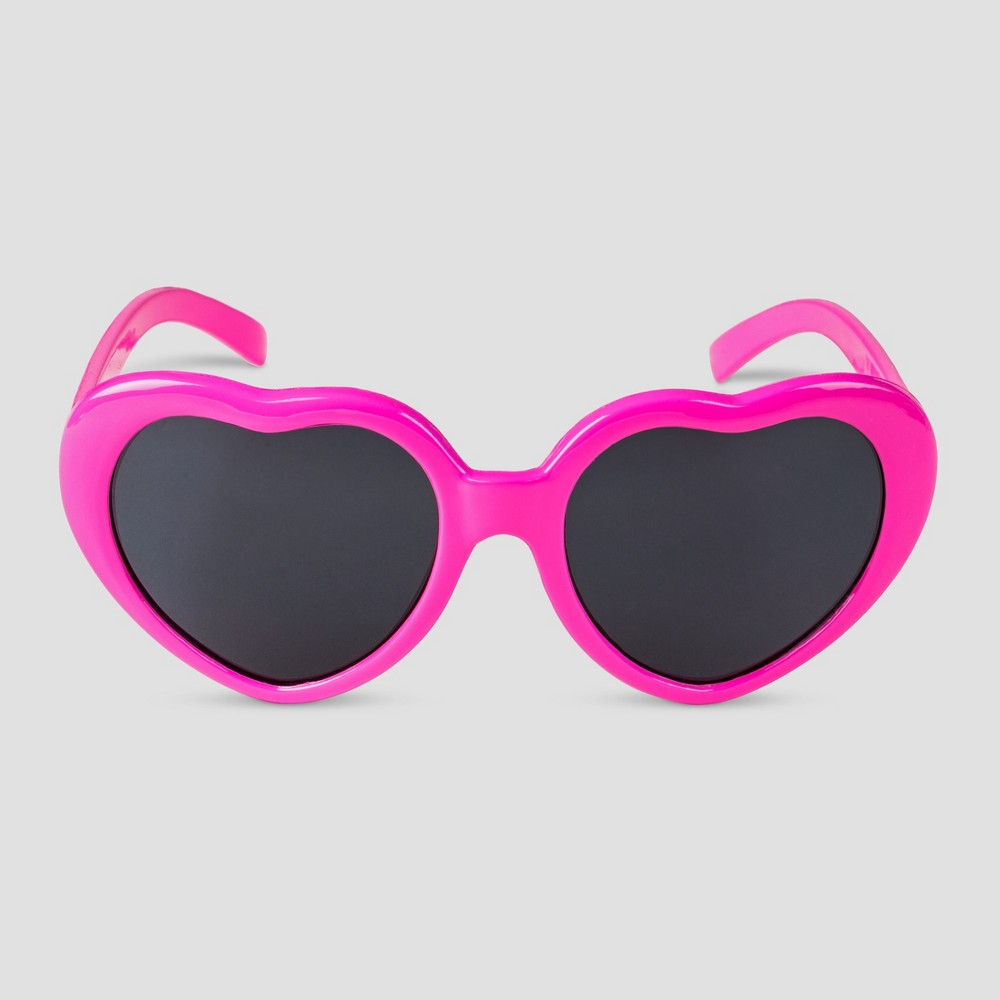 Girls' Heart Ombre Sunglasses - Cat & Jack Pink