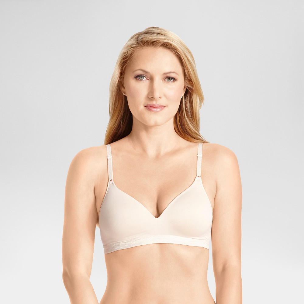 Simply Perfect by Warner's Women's Super Soft Wire-Free Bra RM1691T - 38C Butterscotch