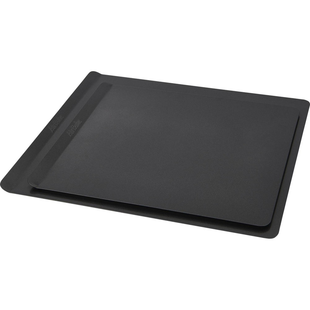 Image of AirBake 14x12 in and 16x14 in Nonstick 2-Pack Cookie Sheet Set