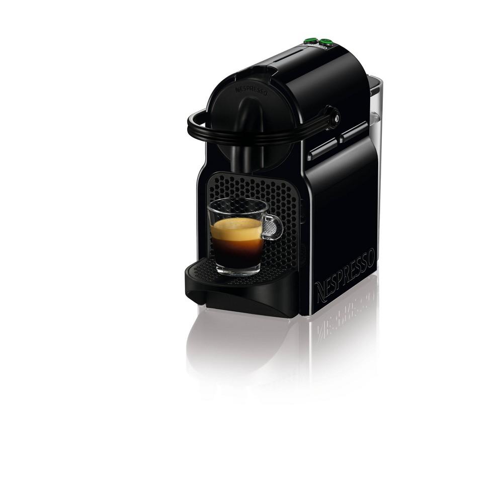 Image of Nespresso Inissia Coffee and Espresso Machine by De'Longhi, Black
