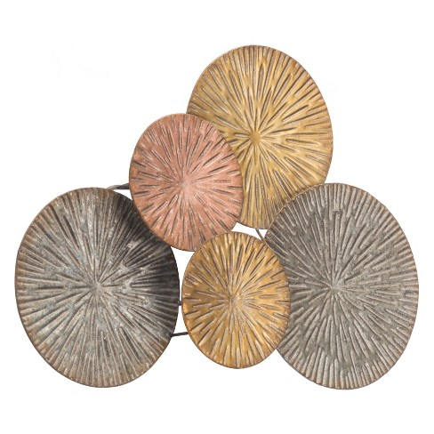 "ZM Home 24"" Circles Wall Sculpture - image 1 of 2"