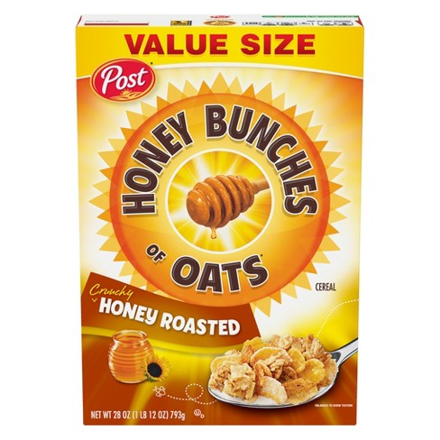 Honey Bunches of Oats Honey Roasted Breakfast Cereal - 28oz - Post - image 1 of 4