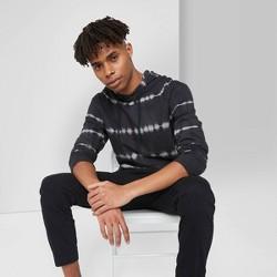 Men's Tie-Dye Regular Fit Sweatshirt - Original Use™ - Black