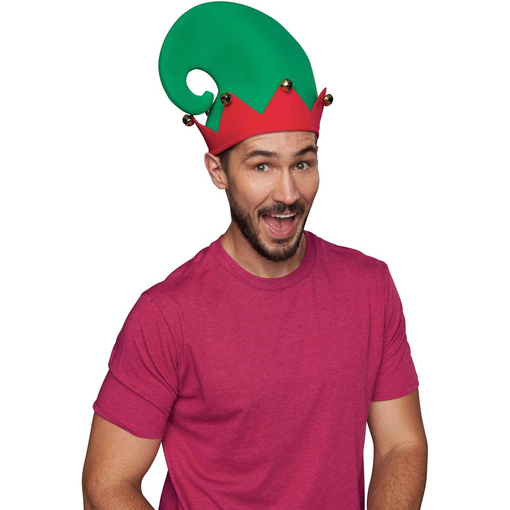 Elf Hat Red/Green - Wondershop