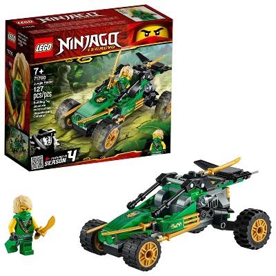 LEGO NINJAGO Legacy Jungle Raider Building Kit 71700