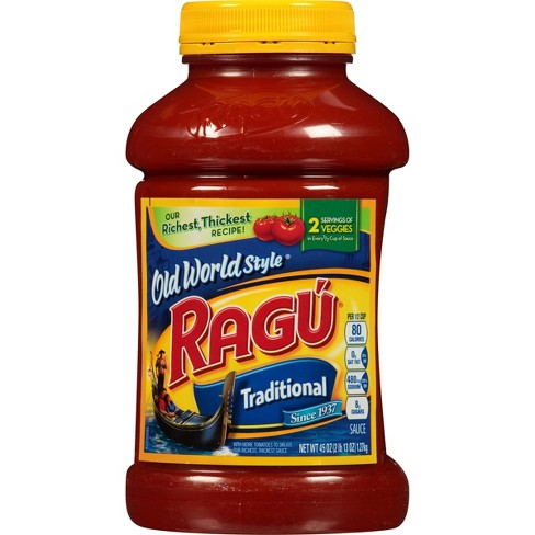 Ragu Old World Style Traditional Pasta Sauce - 45oz - image 1 of 4