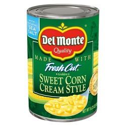 Del Monte Fresh Cut Cream Style Golden Sweet Corn 14.75 oz