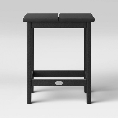 Moore POLYWOOD Patio Side Table - Black - Project 62™