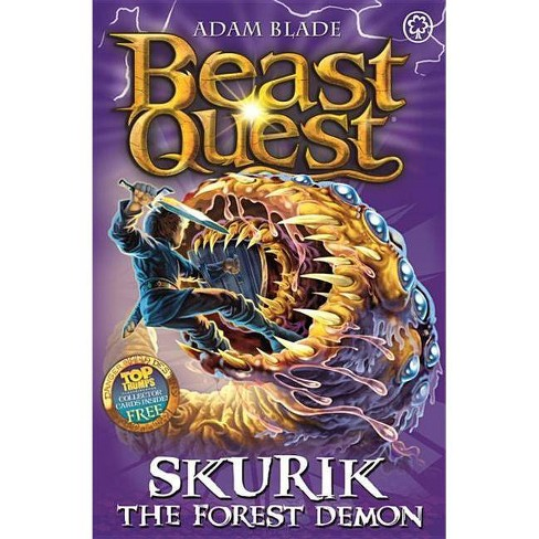 Beast Quest: 73: Skurik the Forest Demon - by  Adam Blade (Paperback) - image 1 of 1