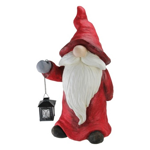 Christmas Gnome.Northlight 19 75 Red And White Santa Christmas Gnome Tabletop Figure