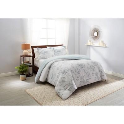 3pc Jasmeen Reversible Comforter Set - Marble Hill