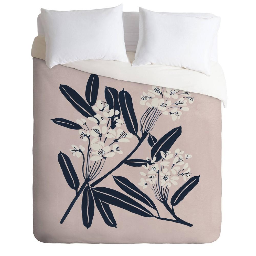 King Megan Galante Boho Botanica Comforter Set Brown Deny Designs