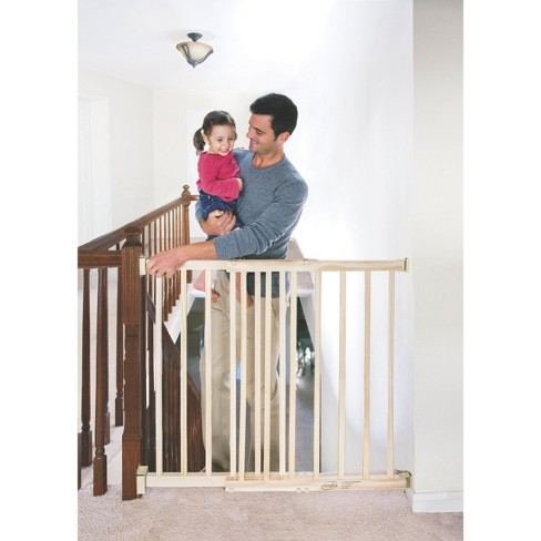 Evenflo Top Of Stair Extra Tall Wood Gate Target