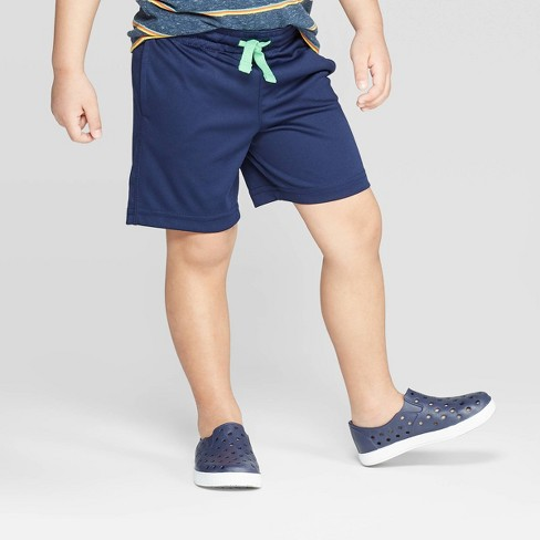 Toddler Boys' Interlock Athletic Shorts - Cat & Jack™ Navy 2T : Target