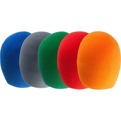 Proline PLWS5 Microphone Windscreen Pack of five windscreens Multi-Color