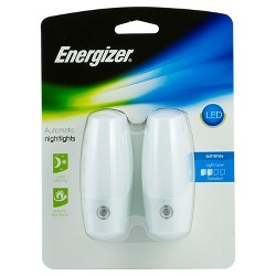 Energizer 2pk LED Automatic Plug In Nightlights