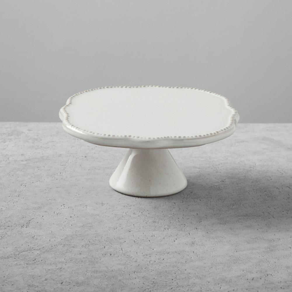 Stoneware Cake Stand Small Cream - Hearth & Hand with Magnolia