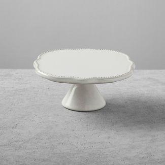 Stoneware Cake Stand Small Cream - Hearth & Hand™ with Magnolia