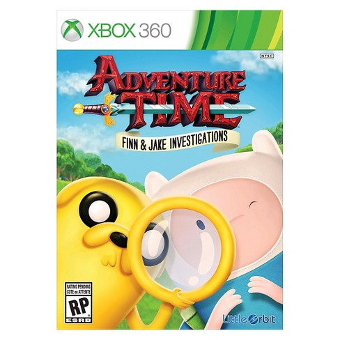 Adventure Time Finn and Jake Investigations Xbox 360 - image 1 of 1