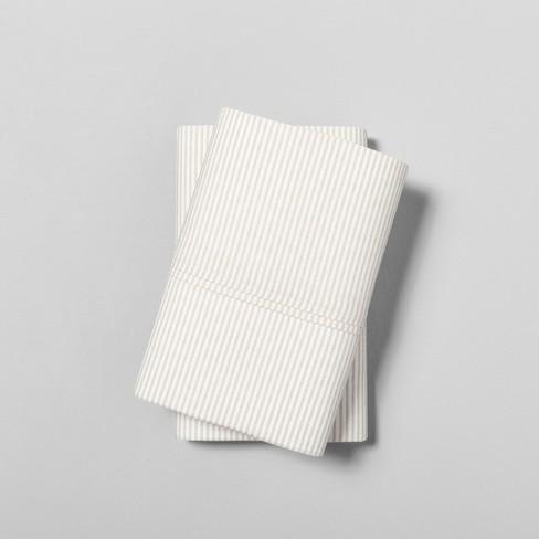 NEW Magnolia Organics Pillowcase Set Standard 300 thread count BRAND NEW