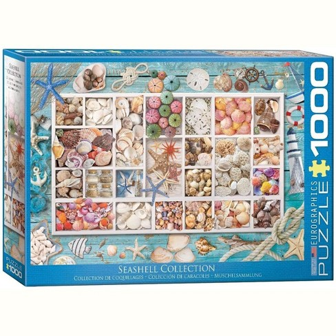 Eurographics Inc. Seashell Collection 1000 Piece Jigsaw Puzzle - image 1 of 4