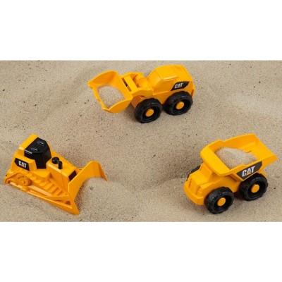 Theo Klein CAT Construction Mega Set , Yellow